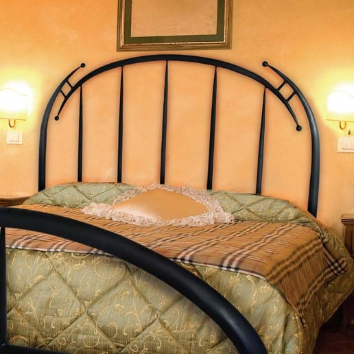Pictured Here Is The Pinnacle Wrought Iron Headboard Hand