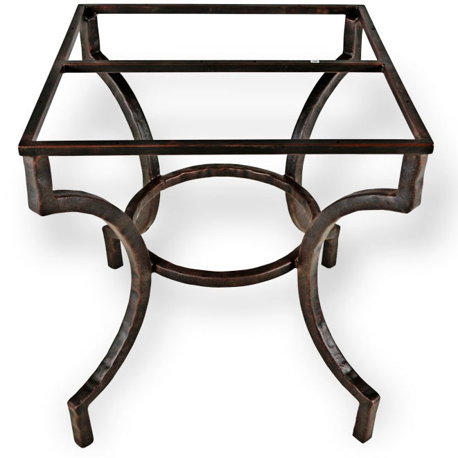 Pictured here is the Corinthian Dining Table Base Only  : TWI MC 70 263 Base 2 from www.timelesswroughtiron.com size 661 x 661 jpeg 128kB