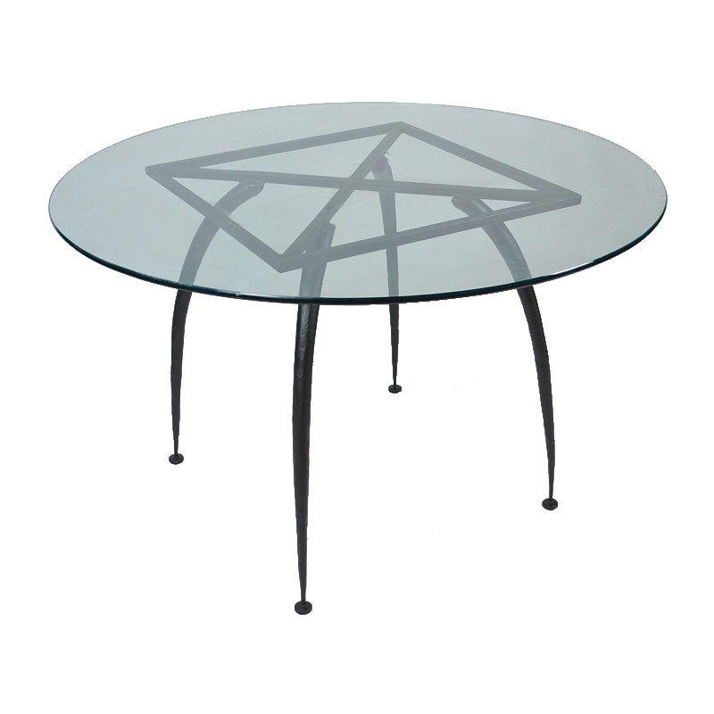Pictured here is the Pinnacle Dining Table Base Only for  : TWI MC 70 291 Base 2 from www.timelesswroughtiron.com size 800 x 800 jpeg 74kB