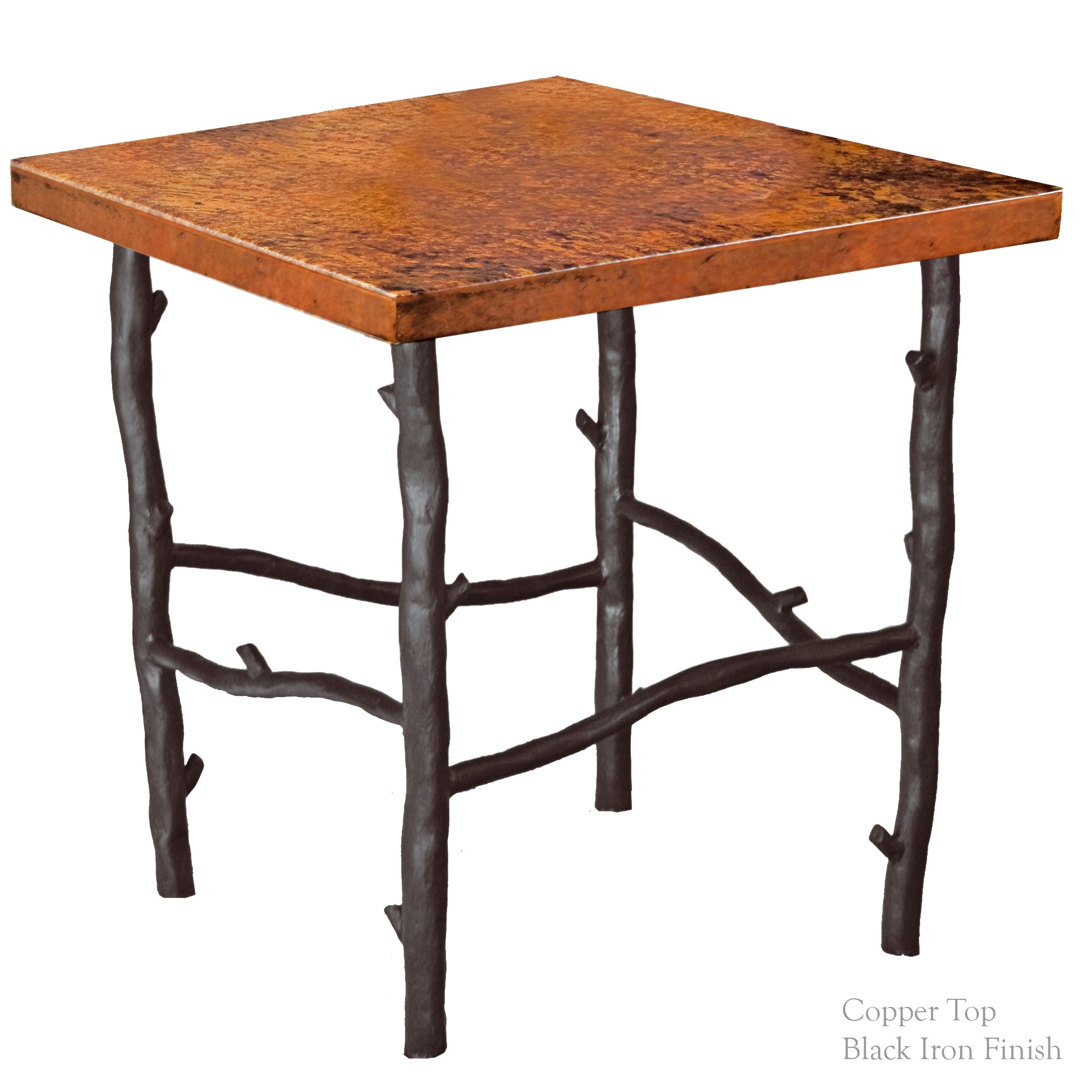 South fork iron end table base for Side table base