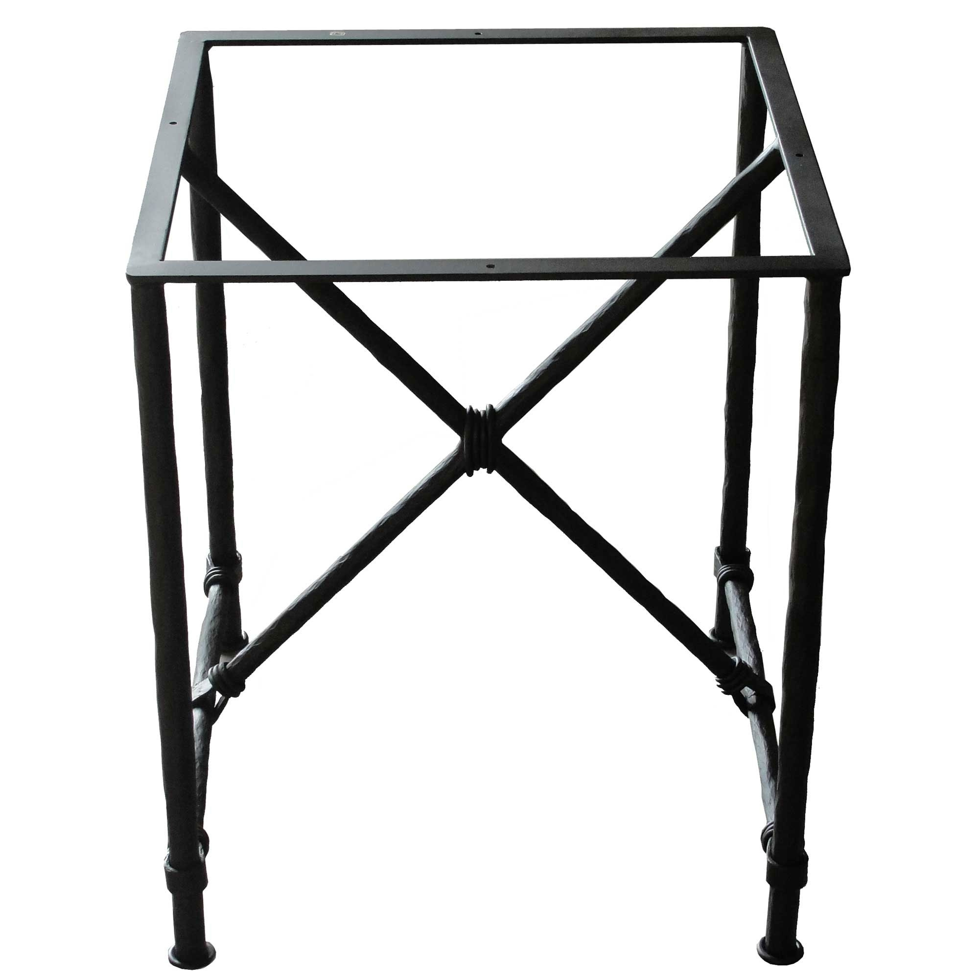 Pictured here is the burlington end table base only hand for Side table base