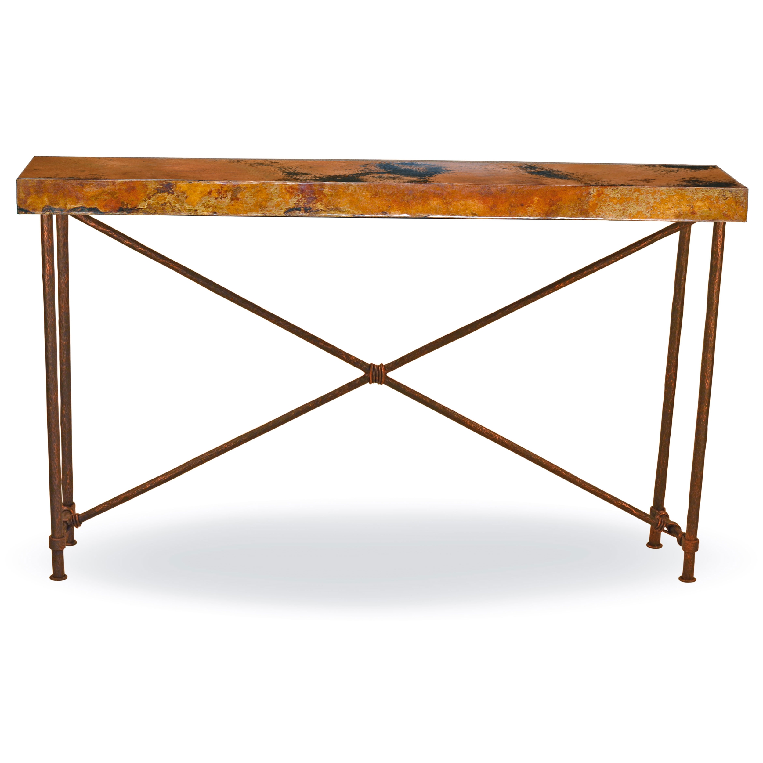 Pictured here is the burlington console table base only for Wrought iron sofa table base