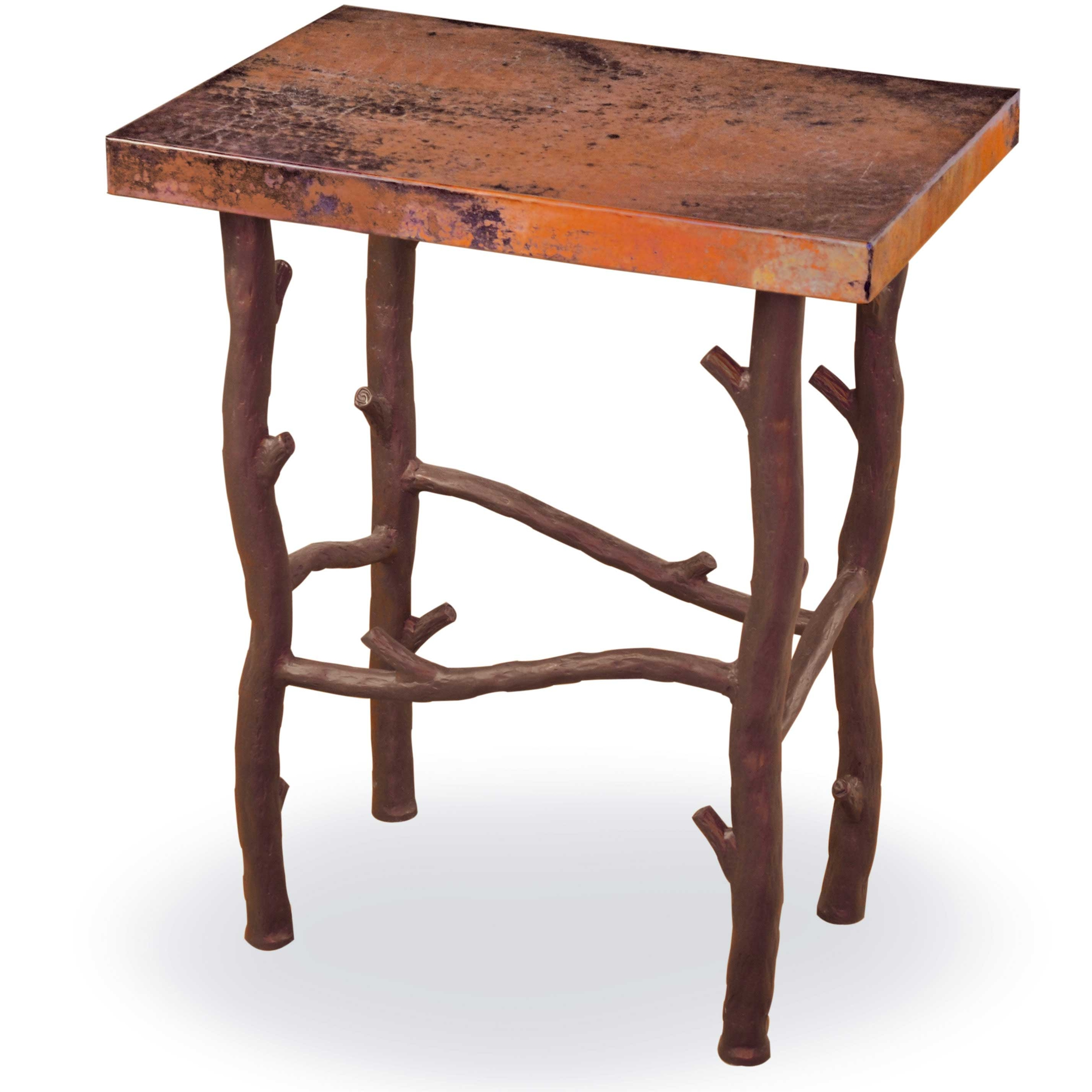 Pictured Here Is The South Fork Small End Table With Aged