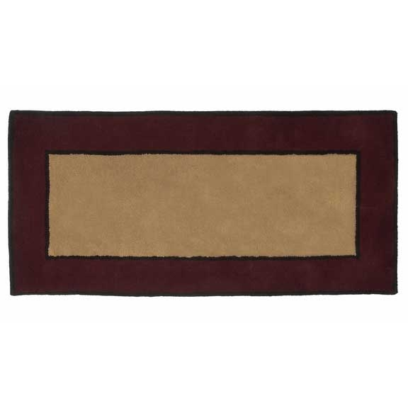 Contemporary Ii Berry Fire Resistant Hearth Rug 26 W X 56 H