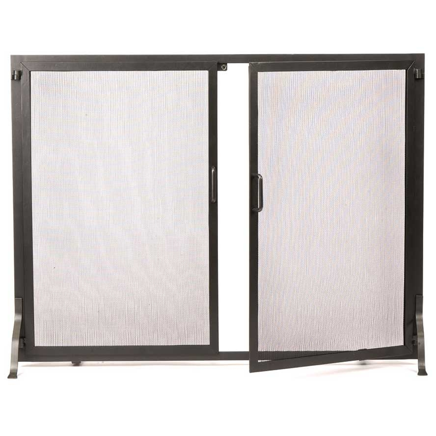Home gt fireplace amp hearth gt fireplace screens gt single panel fireplace