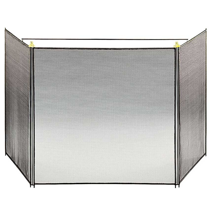 Pictured Here Is The Child Guard 3 Fold Fireplace Screen