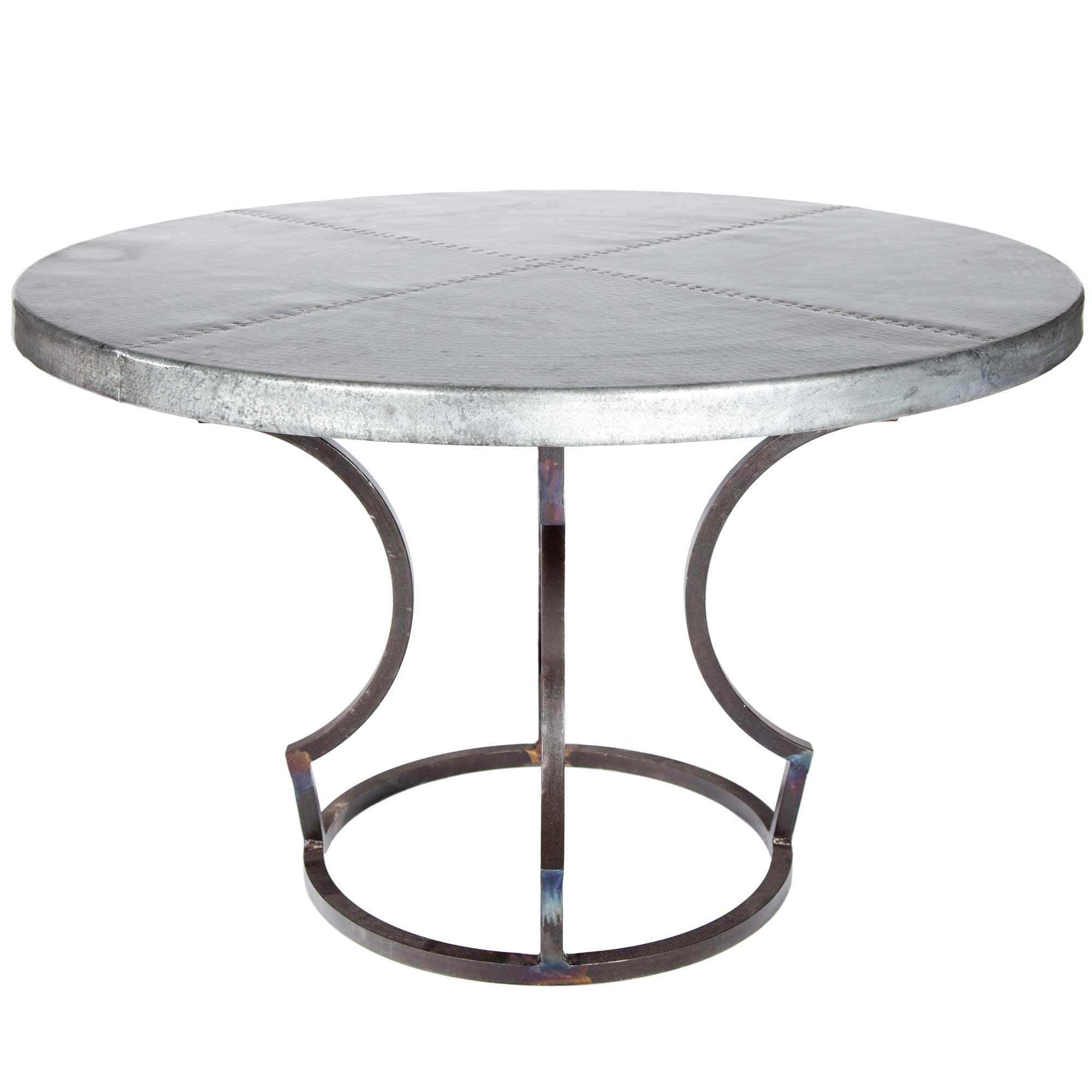 Pictured Here Is The Charles Dining Table With Wrought