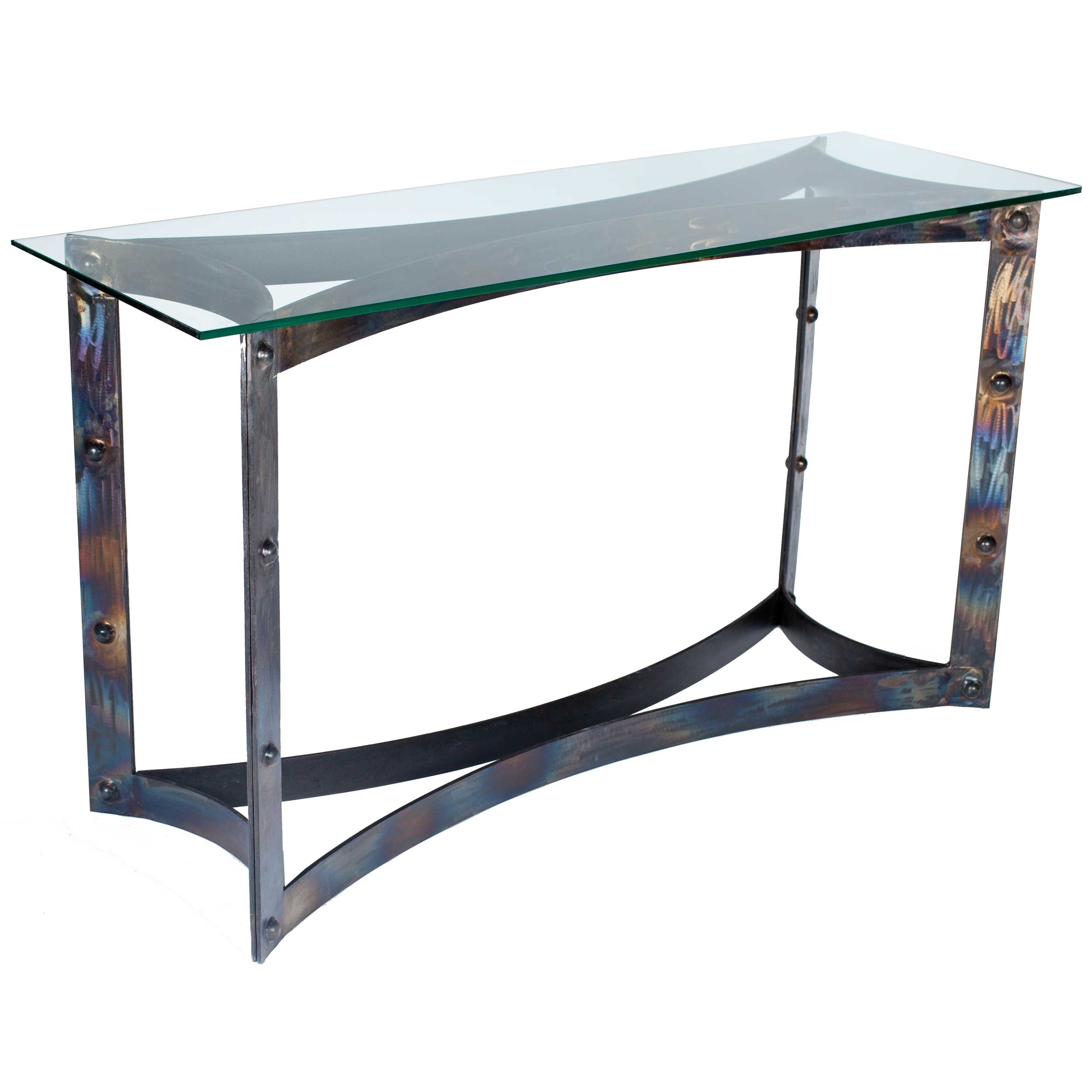 Sebastian Iron Console Table Base Only Use Your Own