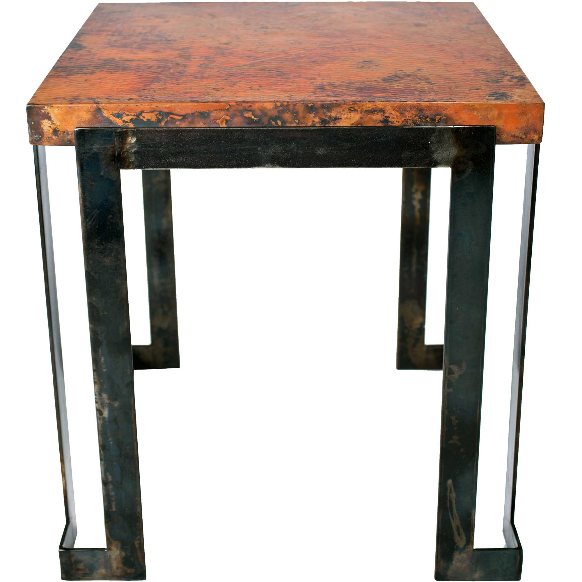Steel strap end table base end table base only for Side table base