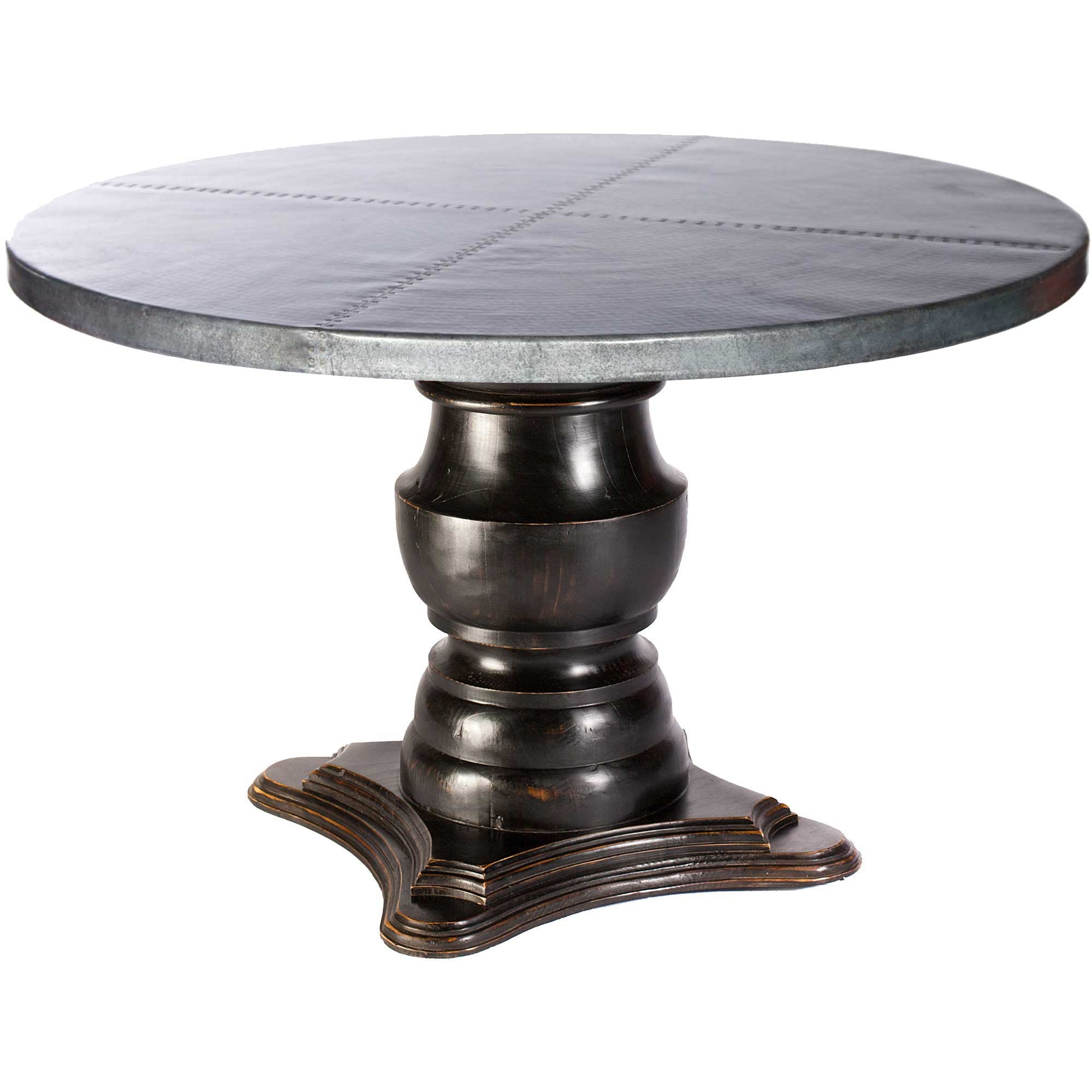 Pictured here is the Fredrick Dining Table with solid wood  : TWI PM M8 F 100B 2 from www.timelesswroughtiron.com size 2000 x 2000 jpeg 482kB