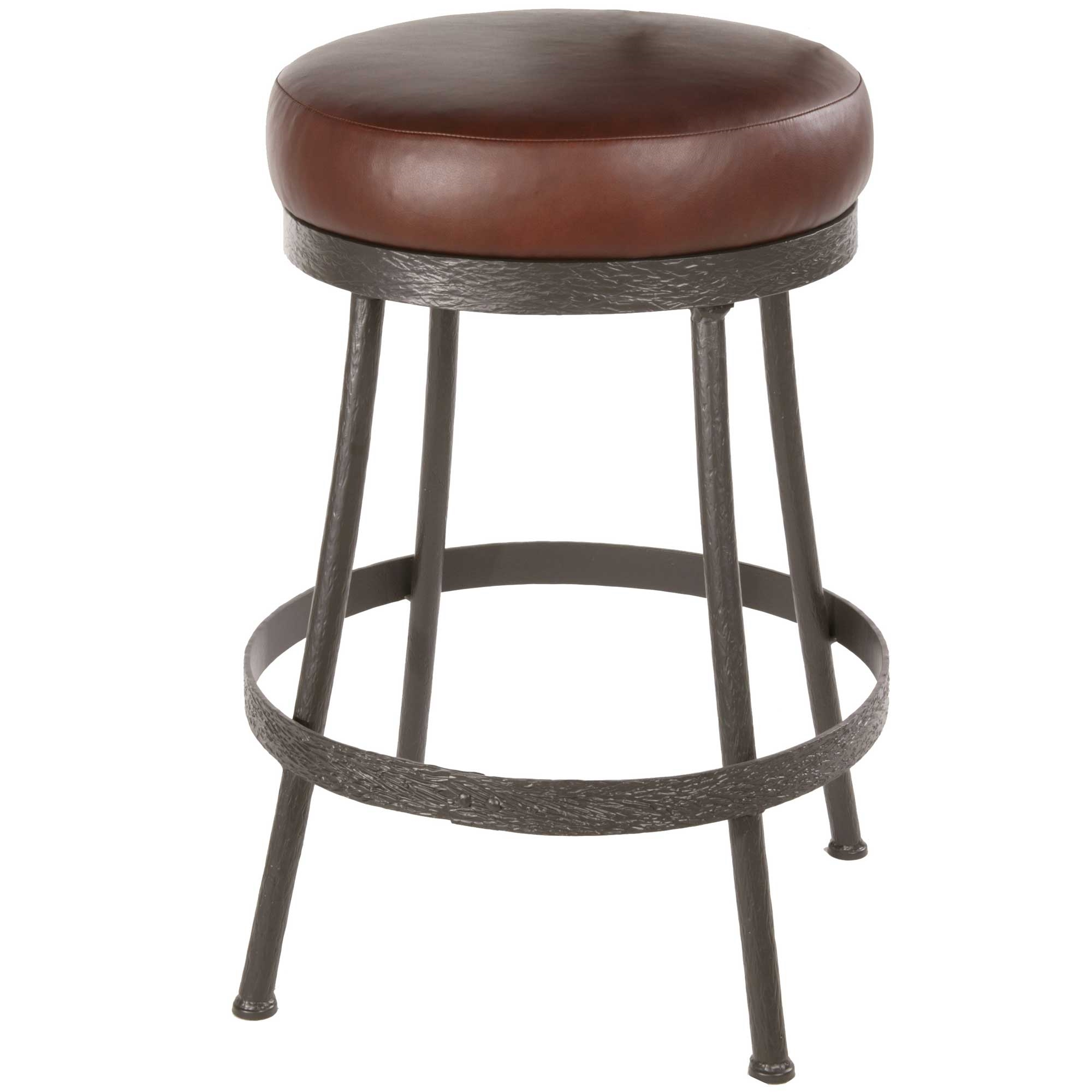 Pictured here is the backless cedarvale counter stool with