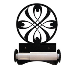 Wrought Iron RibbonTissue Holder