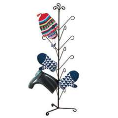 Wrought Iron Oxford Deluxe Mitten Dryer Stand