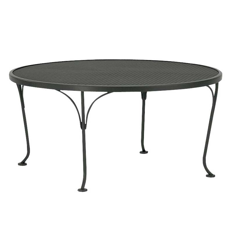 Pictured Is The Occasional Mesh Top 36 Round Coffee Table From Woodard Outdoor Furniture Sold