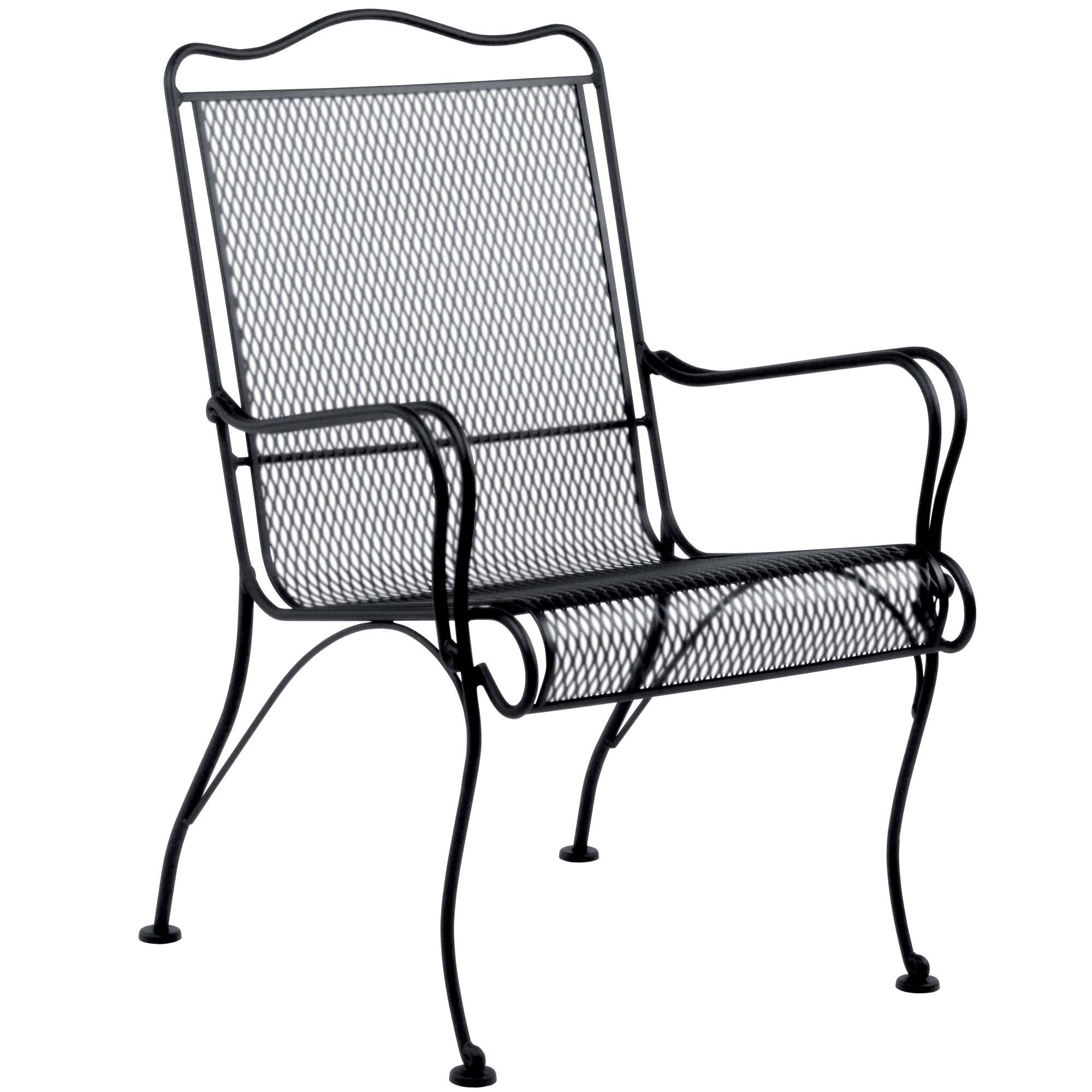 Pictured is the Tucson High Back Lounge Chair from Woodard