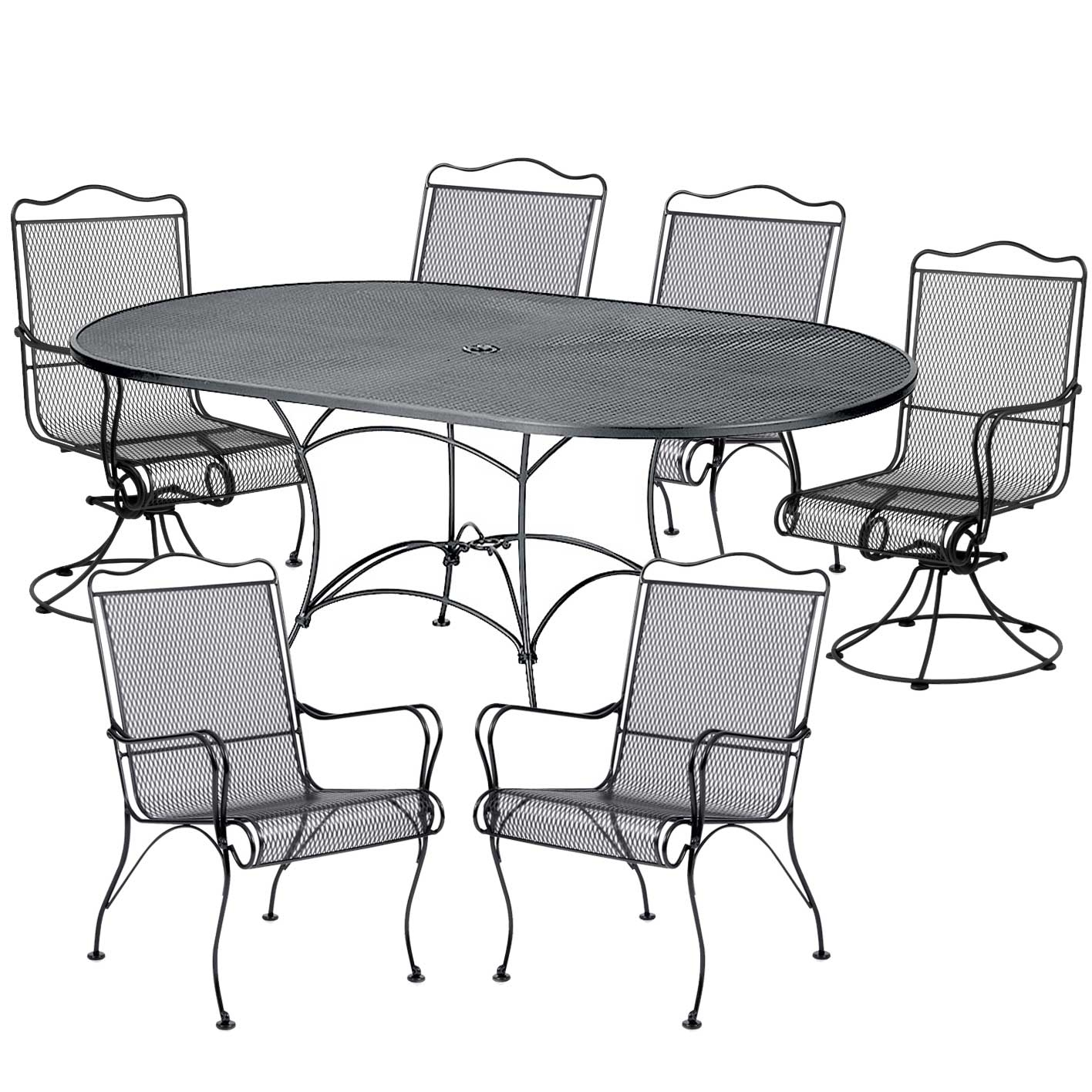 Pictured here is the Tucson 7 pc Dining Set manufactured  : TWI WA 1RR016 2 from www.timelesswroughtiron.com size 1416 x 1416 jpeg 616kB