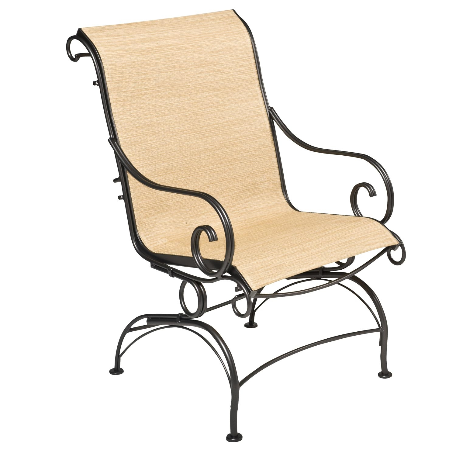 Pictured is the Terrace Sling Coil Spring Dining Chair  : TWI WA 750066 2 from www.timelesswroughtiron.com size 1500 x 1500 jpeg 451kB