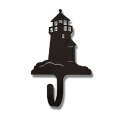 Wrought Iron Lighthouse Magnet Hook