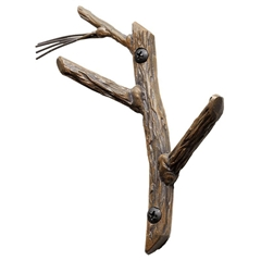 Double Pine Wall Hook