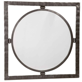 Forest Hill Round Wall Mirror