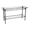 Wrought Iron Knot Console Table by Stone County Ironworks