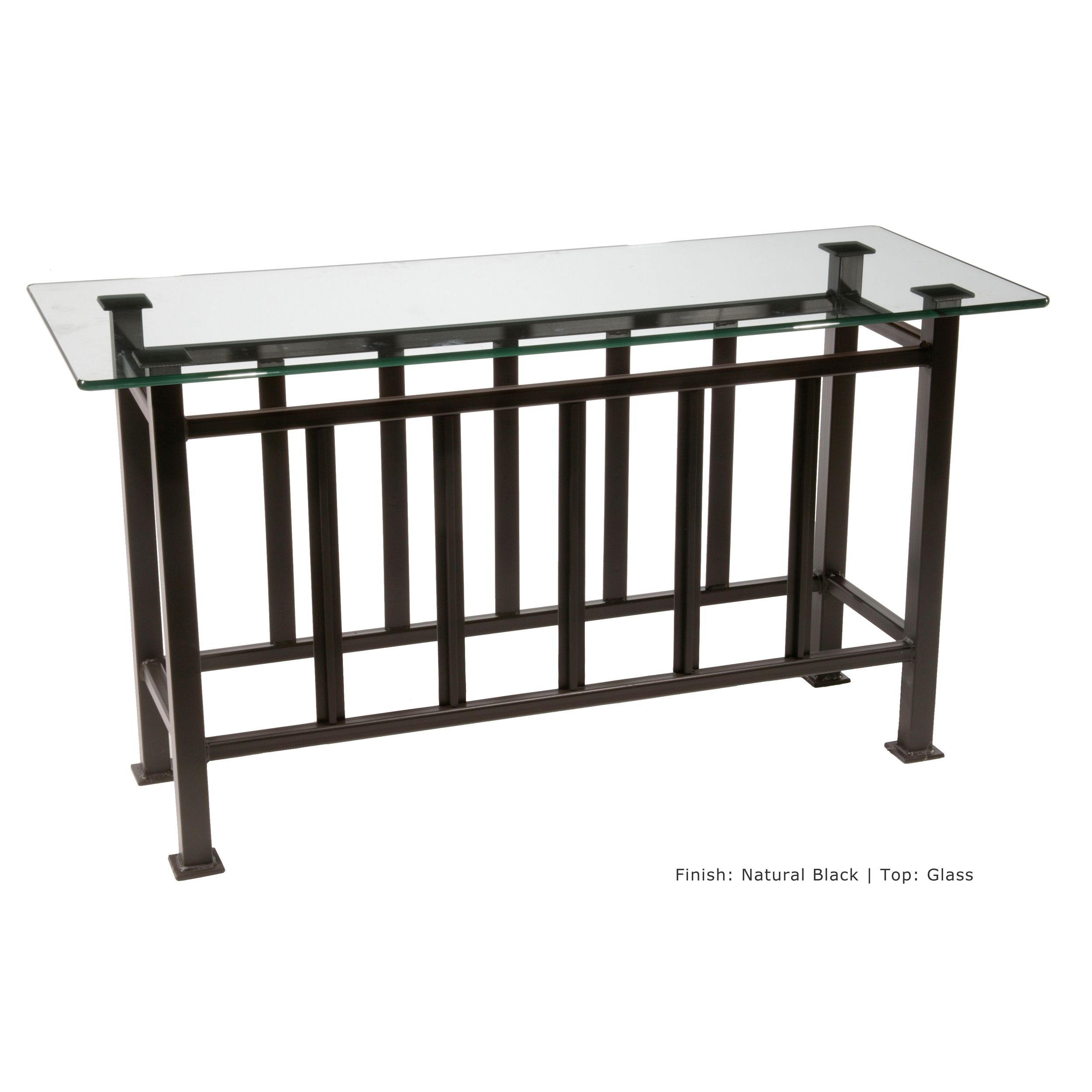 Iron Console Table : Mission Console Table
