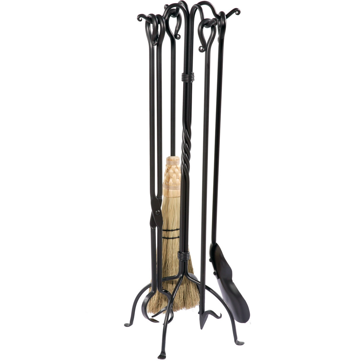 home home accents rustic fireplace tool set pictured here is the