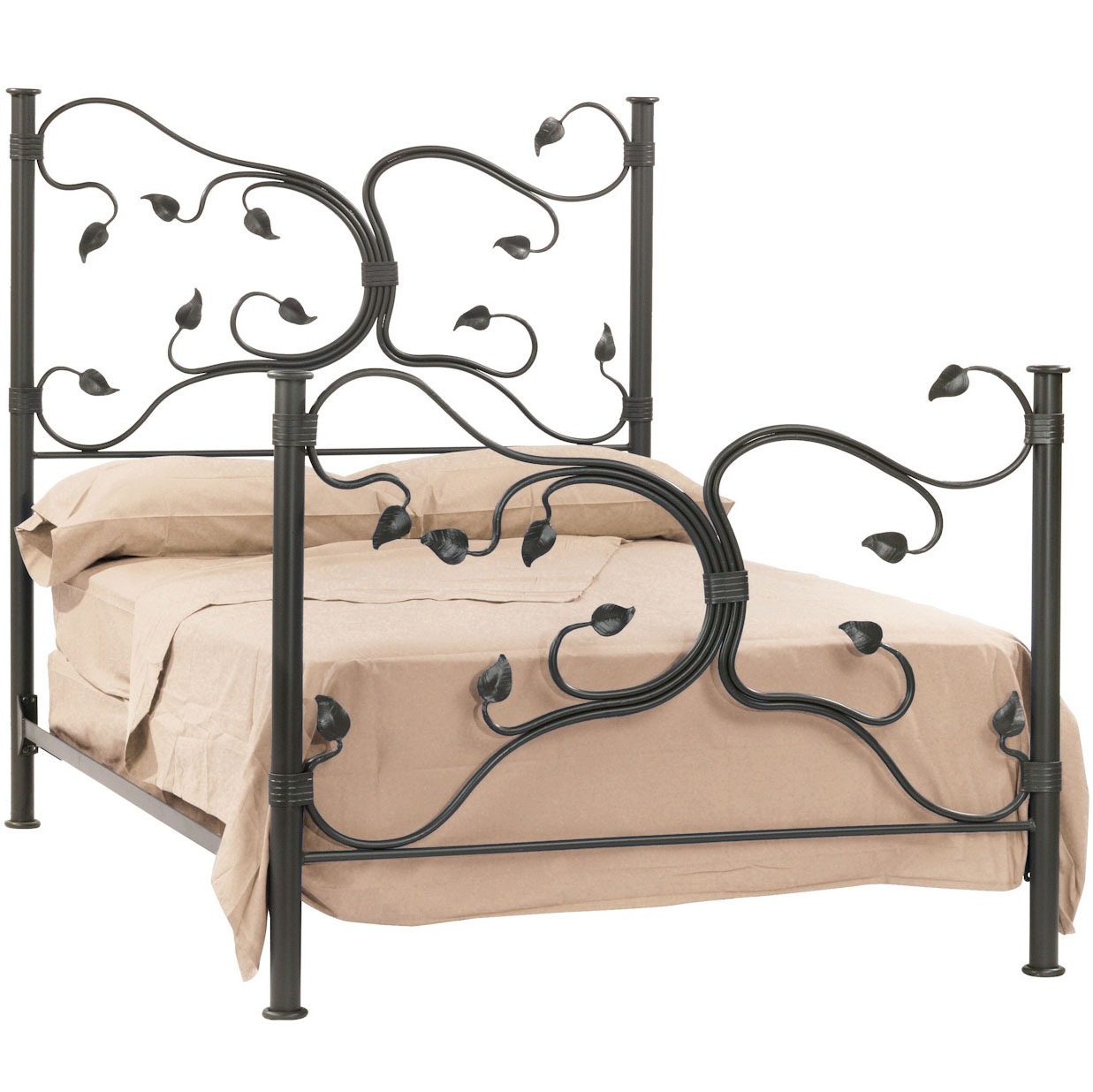 Eden isle headboard Wrought iron headboard