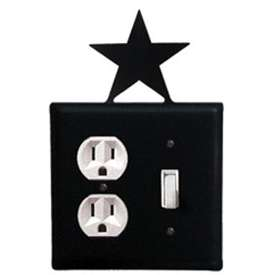 Wrought Iron Star Outlet & Switch Cover