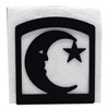 Wrought Iron Moon & Star Napkin Holder