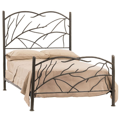 Wrought Iron Norfork Headboard By Stone County Ironworks