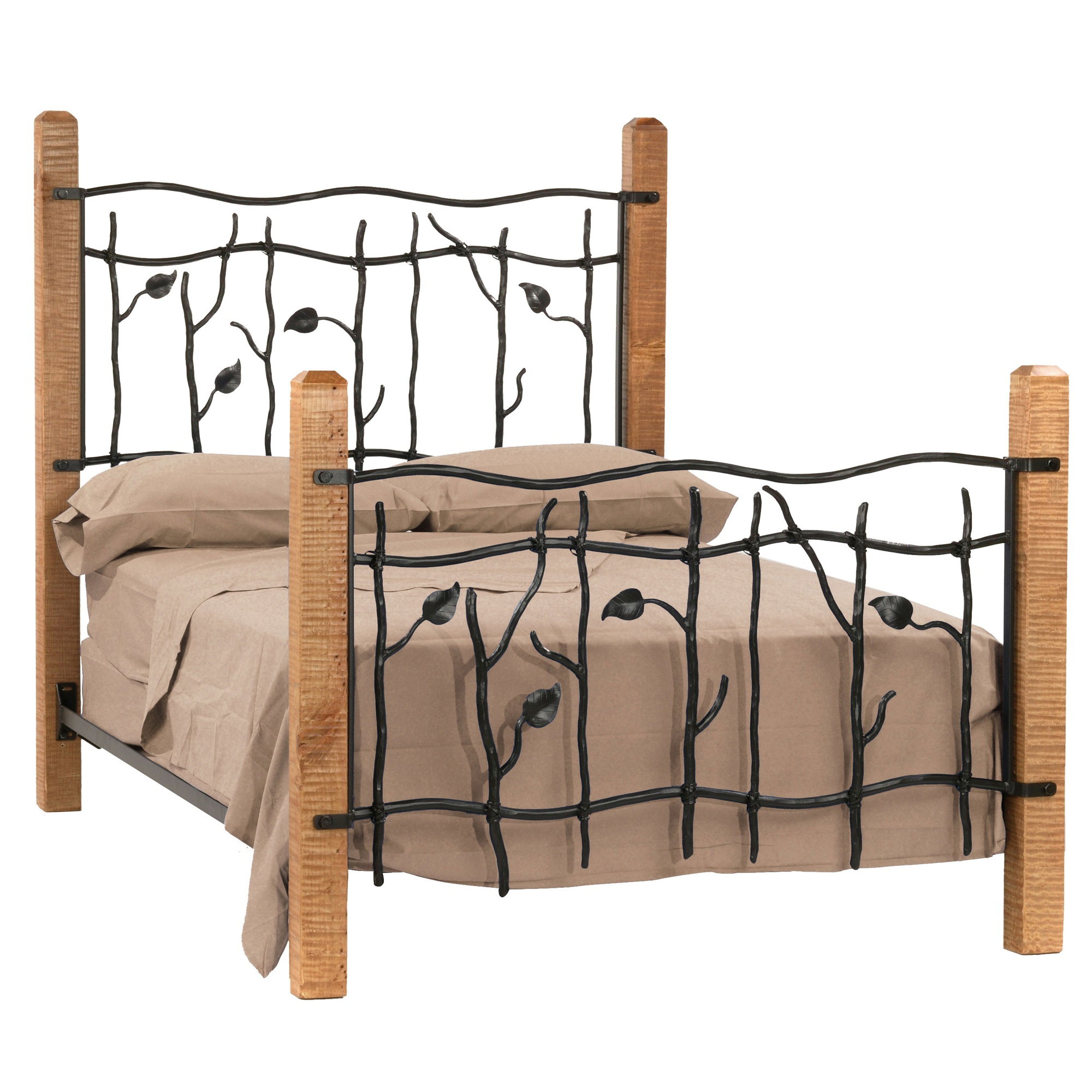 Wrought Iron Sassafras Beds By Stone County Ironworks
