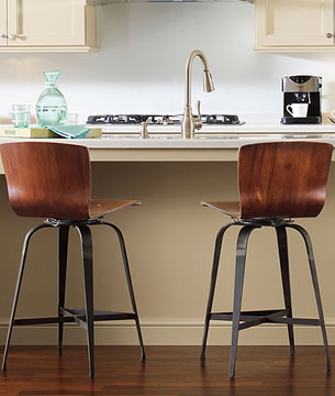 Shop counter height iron stools for your kitchen