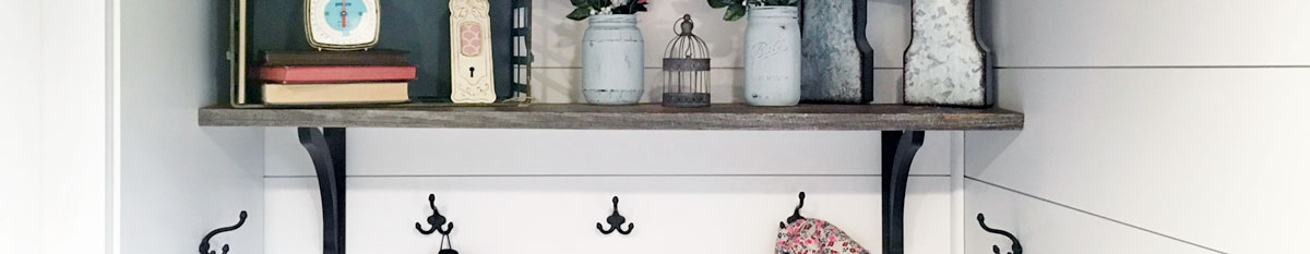 Wrought Iron Shelf Brackets