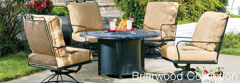 A Beautiful Line Of Outdoor Furniture Made With Comfortable Mesh Backs And  Fine Craftsmanship. Made From Sturdy Wrought Iron, The Briarwood Collection  Is As ...