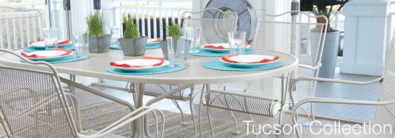 Laid Back Transitional Style And Comfort Minded Design Highlight The Tucson  Outdoor Collection. This Outdoor Furniture Comes In A Myriad Of Finishes To  Fit ...