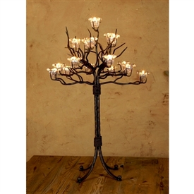 Wrought Iron Grand Twig Candelabra By Bella Toscana