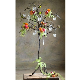 Wrought Iron Drooping Twig Tree By Bella Toscana