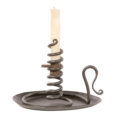Wrought Iron Courting Candle Holder Timeless Wrought Iron