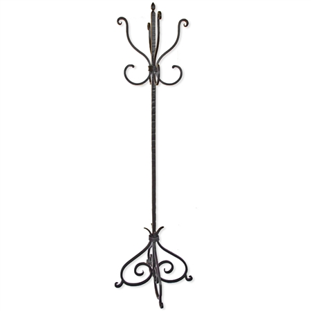 Alexander Standing Coat Tree With 8 Hooks