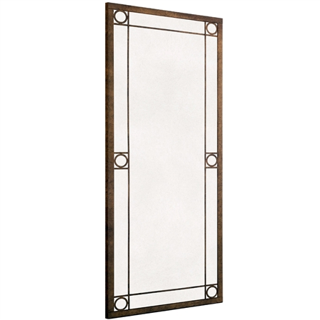 Oxford Wrought Iron Mirror Charleston Forge