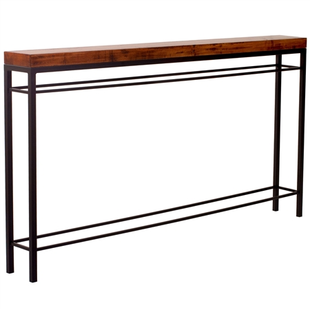 Newhart 70 Quot Wrought Iron Console Table Charleston Forge