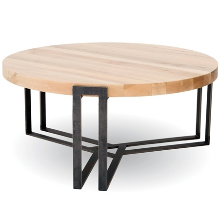 Watson 54 In Round Cocktail Table Handcrafted In America