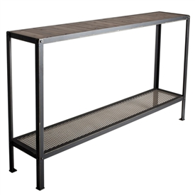Wrought Iron Warehouse 60 Quot Console By Charleston Forge