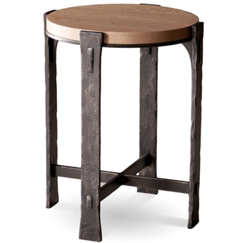 Woodland Round Drink Table By Charleston Forge 17 Quot Dia X