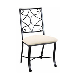 Camino Scroll Side Chair Charleston Forge