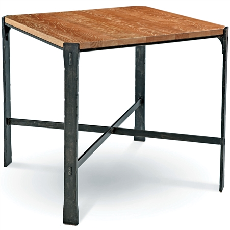 Woodland 42 In Square Bar Height Table By Charleston Forge