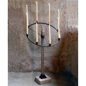 Wrought Iron Wurtilitzer Candle