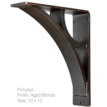 """Eclipse Wrought Iron Corbel 