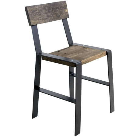 Farmhouse Iron Amp Wood Dining Chair Urban Forge Dining